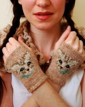 Tiny Owl Knits Patterns - Meow Mitts
