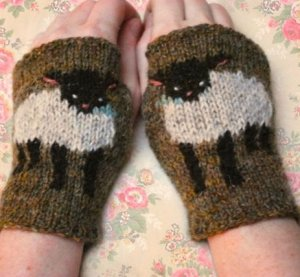 Tiny Owl Knits Patterns - Baby Lamb Cuffs Pattern