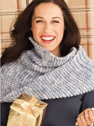Koigu Bulky Infinity Cowl Kit - Scarf and Shawls