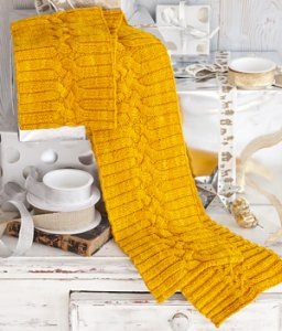 Koigu Kersti Merino Crepe Textured Scarf Kit - Scarf and Shawls