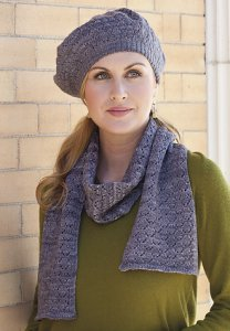 Madelinetosh Tosh Sock Mockingbird Tam & Scarf Set Kit - Scarf and Shawls