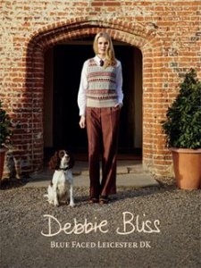 Debbie Bliss Books - Blue Faced Leicester DK