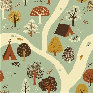 Birch Fabrics Fort Firefly Fabric - Firefly Creek