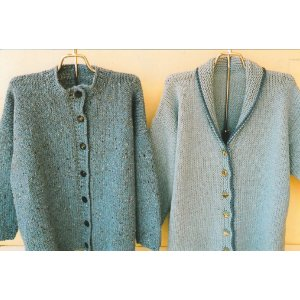 Ann Norling Patterns - 13 - Drop Shoulder Cardigan Pattern