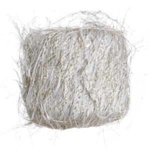 Muench New Marabu (Full Bags) Yarn - 4211 - White & Gold