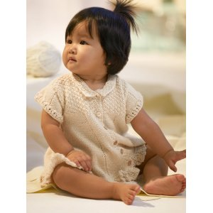 Blue Sky Fibers Baby & Children Patterns - Baby Dress Pattern
