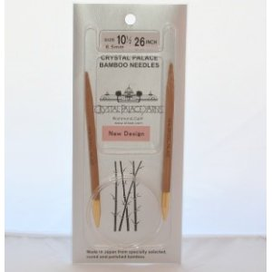 "Crystal Palace Bamboo Circular Needles - US 6 - 16"" Needles"