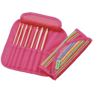 Clover Getaway Bamboo Crochet Hook Set Needles