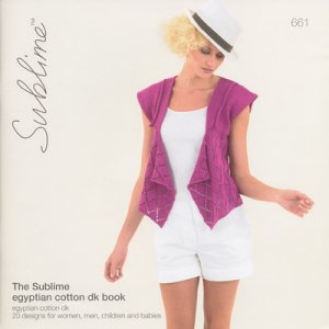 Sublime Books - 661 - The Sublime Egyptian Cotton DK Book