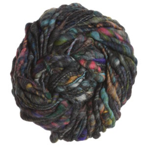 Knit Collage Cast Away Yarn - Charcoal Blossom