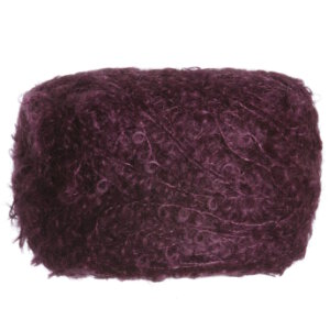 Be Sweet Medium Boucle Yarn - Aubergine