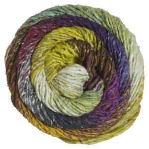 Noro Taiyo Yarn - 59 Brown, Yellow, Mint, Purple