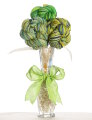 Jimmy Beans Wool Yarn Bouquets - Koigu Simple Bouquet - Greens