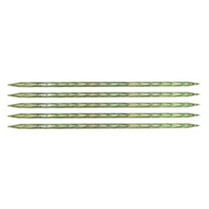 "Knitter's Pride Dreamz Double Point Needles - US 9 - 6"" (5.5mm) Misty Green Needles"