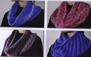 Ann Norling Patterns - 72 - Cowl on the Diagonal Pattern
