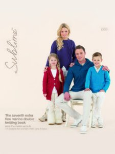 Sublime Books - 669 - The Seventh Extra Fine Merino Double Knitting Book