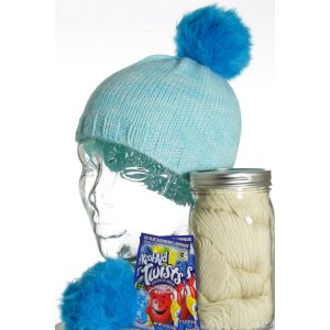 Jimmy Beans Wool Dye-It-Yourself Gift Set - Blue Raspberry
