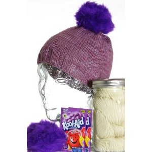 Jimmy Beans Wool Dye-It-Yourself Gift Set - Grape