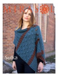 Mirasol Patterns - Button-Up Shawl Vest M5029 Pattern