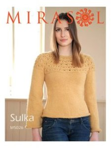 Mirasol Patterns - Patterned Yoke Pullover M5026 Pattern