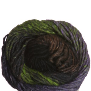Noro Kama Yarn - 29 Black, Violet, Green, Brown