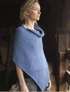 Imperial Yarn Columbia 2-ply Andora Cape Kit - Scarf and Shawls