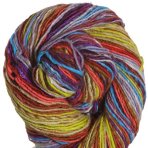 Noro Kirara Yarn - 26 - Cranberry, Lime, Orange, Turquoise (Discontinued)