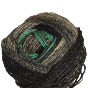 Noro Shiro Yarn - 01 Black, Tan, Green