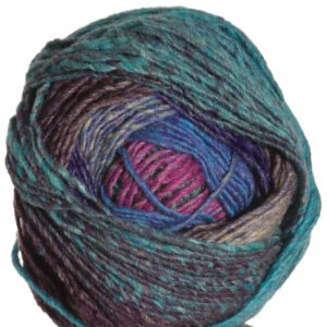 Noro Shiro Yarn - 06 Turquoise, Blue, Pink, Brown