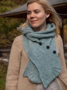 Berroco Elements Peaks Island Hood Kit - Scarf and Shawls