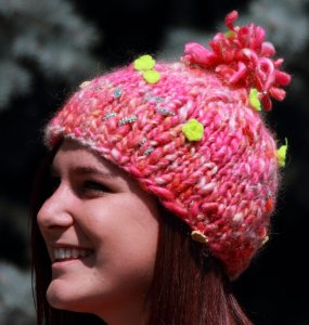 Knit Collage Gypsy Garden Hat Kit - Hats and Gloves
