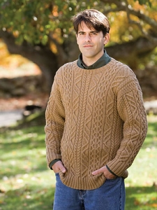 Berroco Comfort Aram  Kit - Mens Sweaters