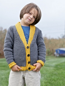 Berroco Comfort Glen Kit - Baby and Kids Cardigans