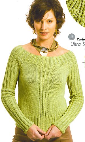 Berroco Ultra Silk Carlotta Kit - Women's Pullovers