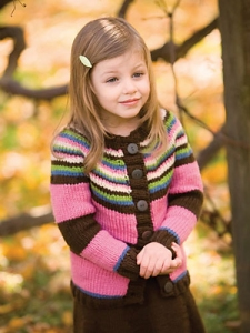 Berroco Comfort Chunky Lagran Kit - Baby and Kids Cardigans