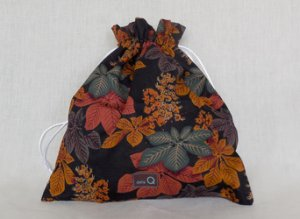 della Q Eden Cotton Project Bag (115-2) - 152 Autumn Walk