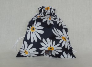 della Q Eden Cotton Project Bag (115-2) - 154 African Daisy