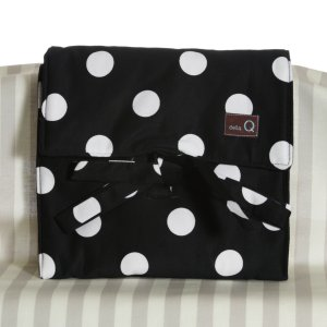 della Q The Que - Cotton (Style 165-1) - 096 Black White Polka Dot