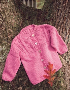 Berroco Comfort DK Caisey Kit - Baby and Kids Cardigans