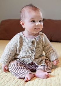Berroco Comfort Burnett Kit - Baby and Kids Cardigans