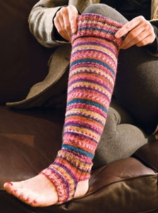 Berroco Comfort Sox Sunderland Knee High Socks Kit - Socks