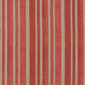 Tim Holtz Eclectic Elements Fabric - Ticking - Red