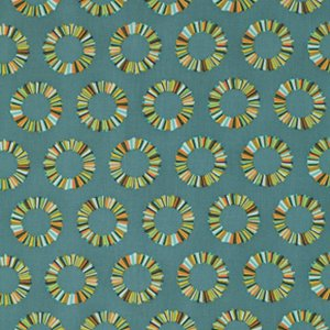 Tula Pink Acacia Fabric - Pineapple Slices - Slate