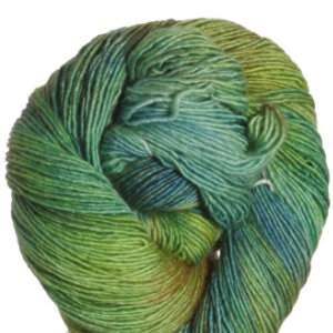 Araucania Nuble Yarn - 010 Greens, Blue, Tan