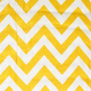 Moda Half Moon Modern Zig Zags Fabric - Sunshine - Medium (32216 18)