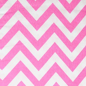 Moda Half Moon Modern Zig Zags Fabric - Peony - Medium (32216 35)