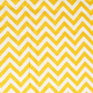 Moda Half Moon Modern Zig Zags Fabric - Sunshine - Small (32217 18)