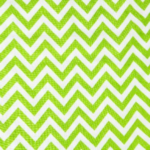 Moda Half Moon Modern Zig Zags Fabric - Lime - Small (32217 19)