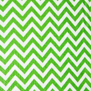 Moda Half Moon Modern Zig Zags Fabric - Kelly - Small (32217 34)