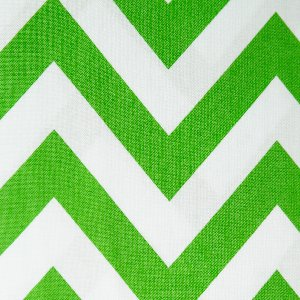 Moda Half Moon Modern Zig Zags Fabric - Kelly - Large (32349 34)